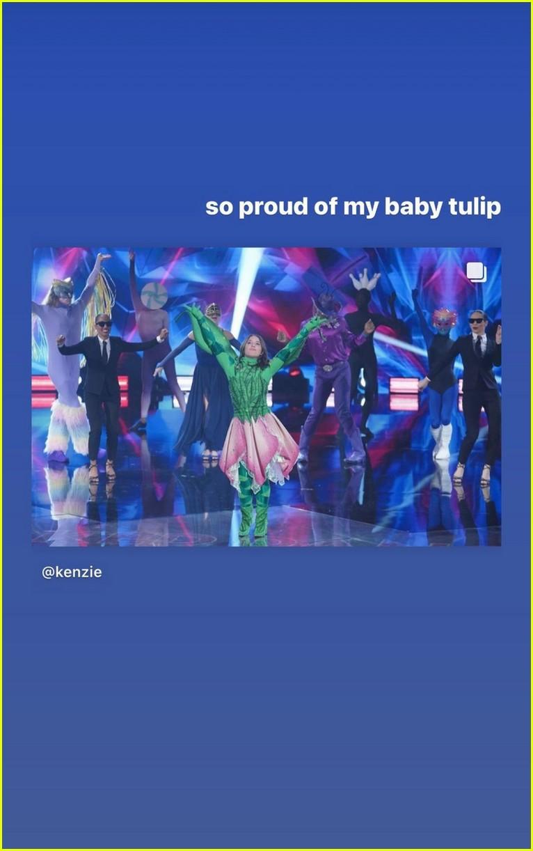 tulip unmasked on the masked dancer shares bts photos 06