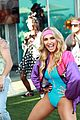 dominic sherwood jack griffo more get into 80s spirit for cassie scerbo bday 11