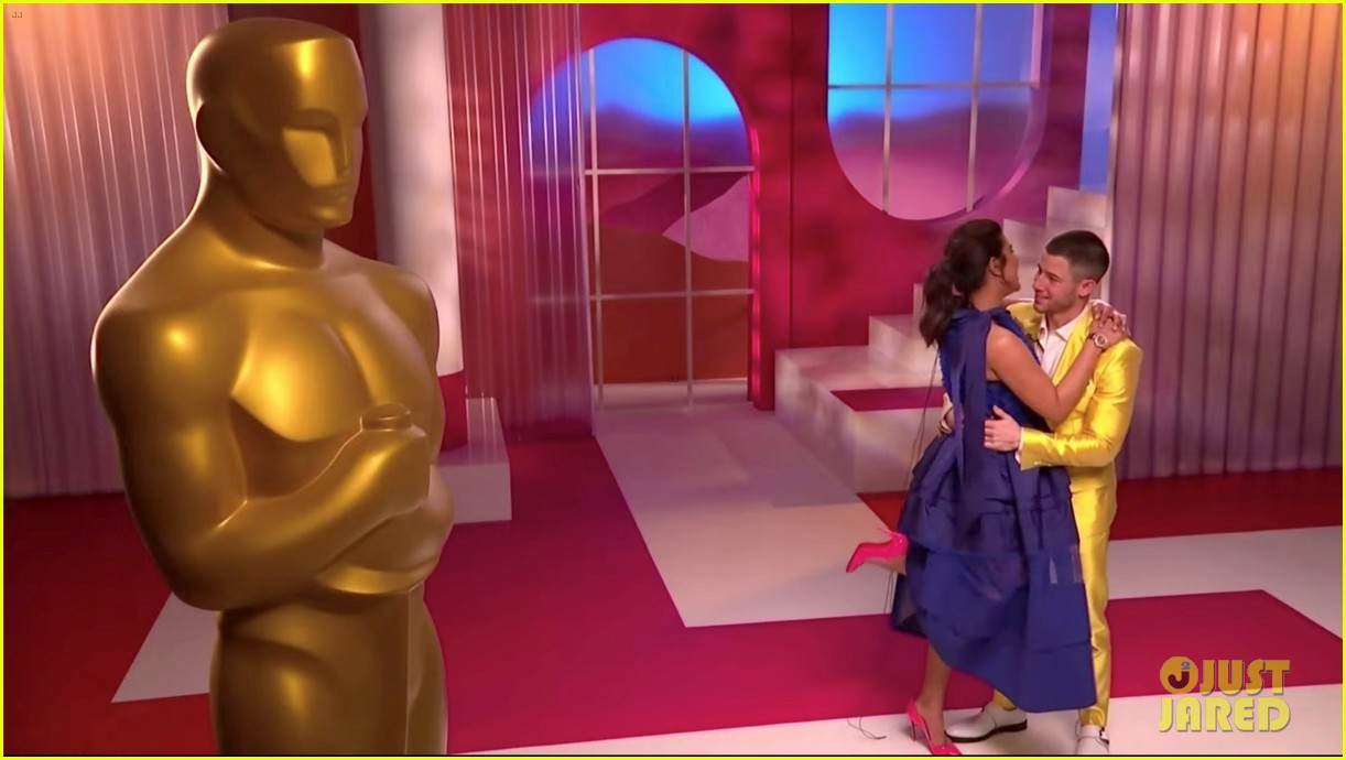 nick jonas priyanka chopra announce the oscar nominations together 02
