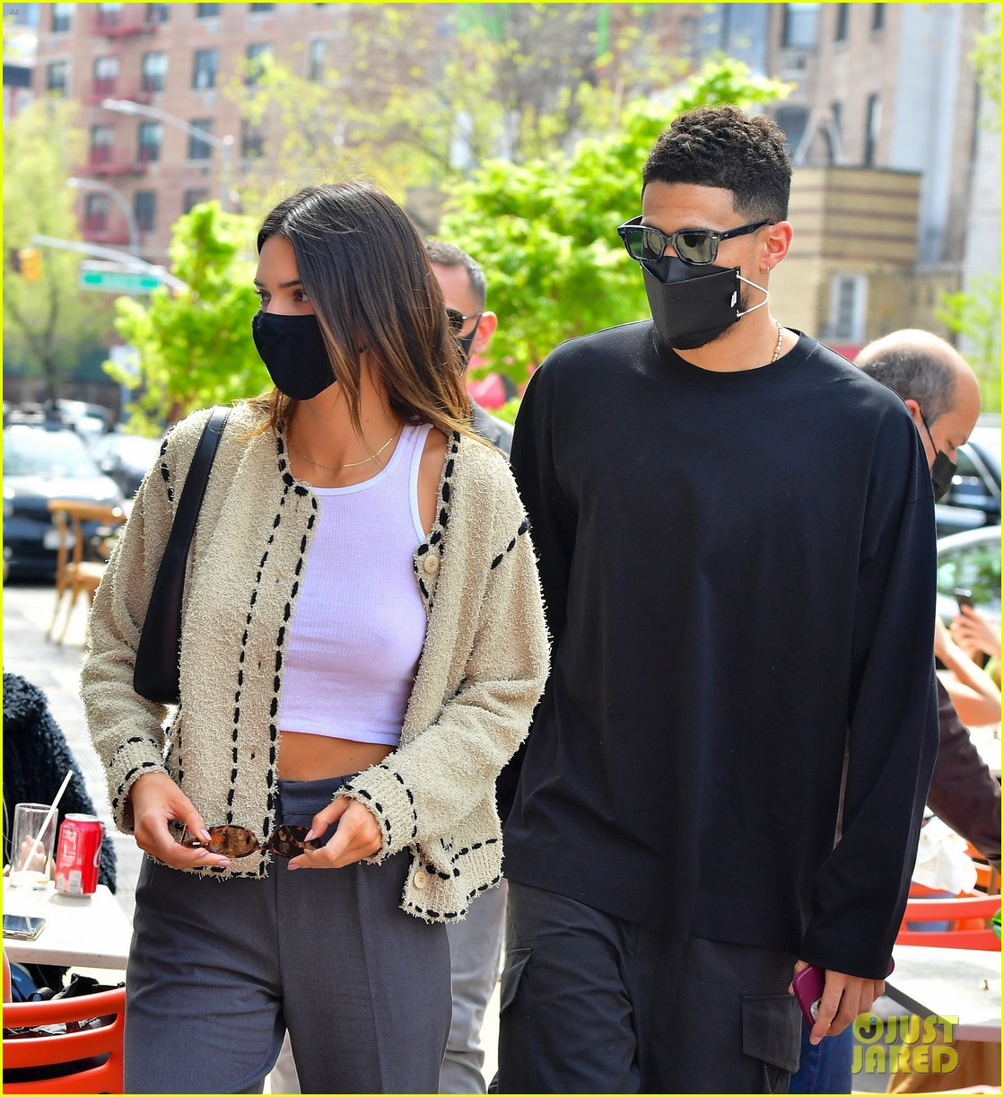 kendall jenner devin book couple up for lunch date 02