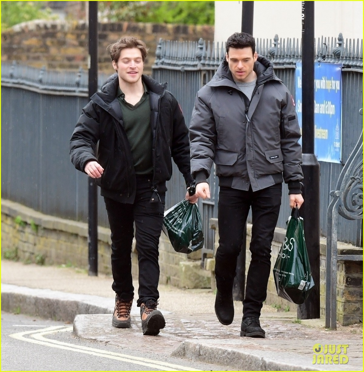 richard madden froy gutierrez seen together in london 03