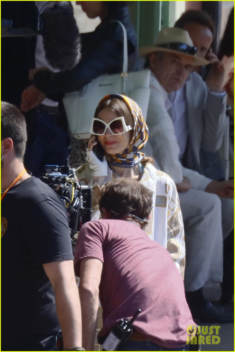 lily collins shooting emily in paris season two 08