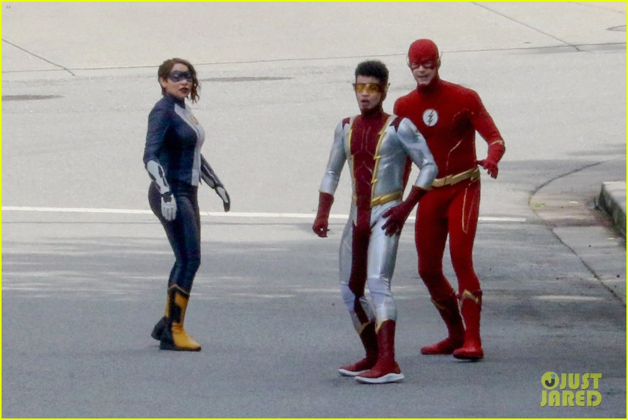 first look photos of jordan fisher as impulse on the flash 09