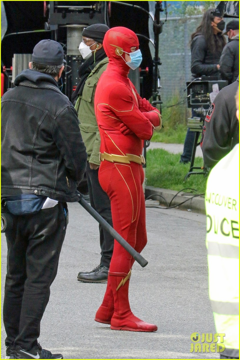 first look photos of jordan fisher as impulse on the flash 18