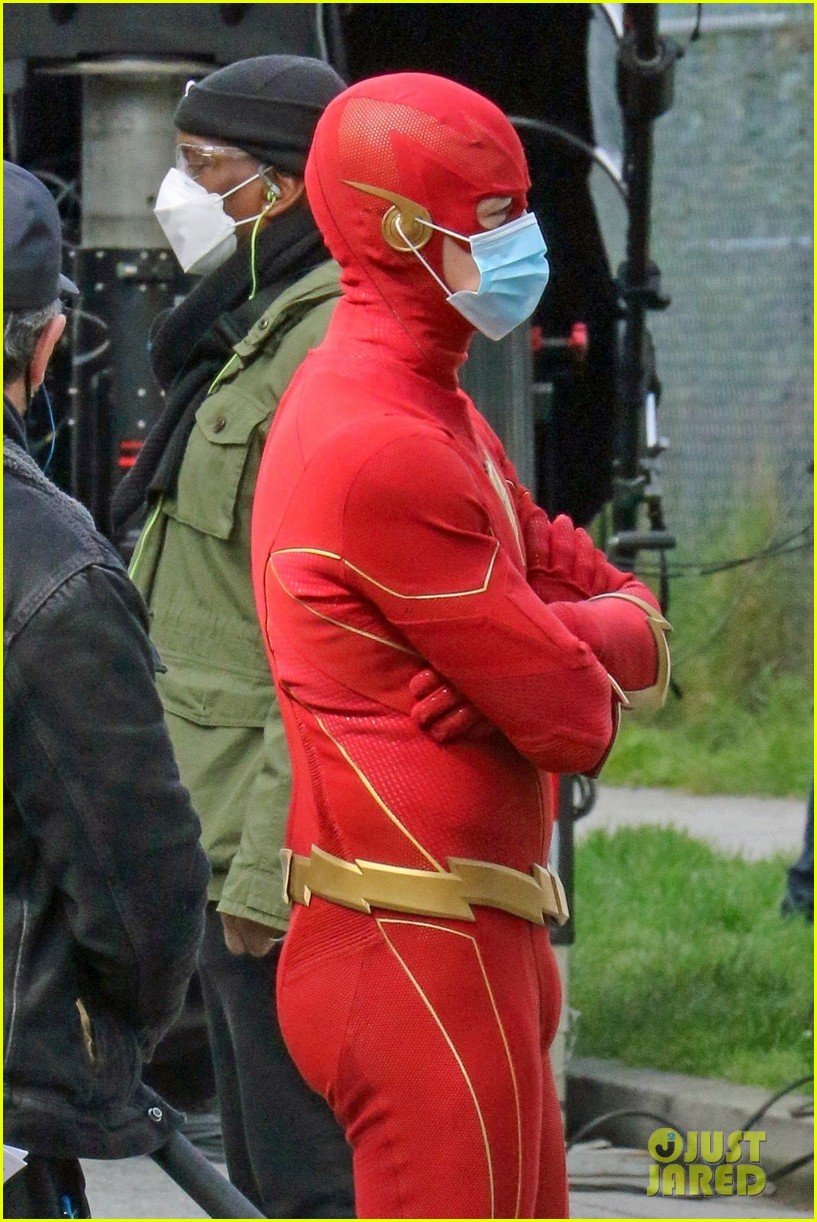 first look photos of jordan fisher as impulse on the flash 20