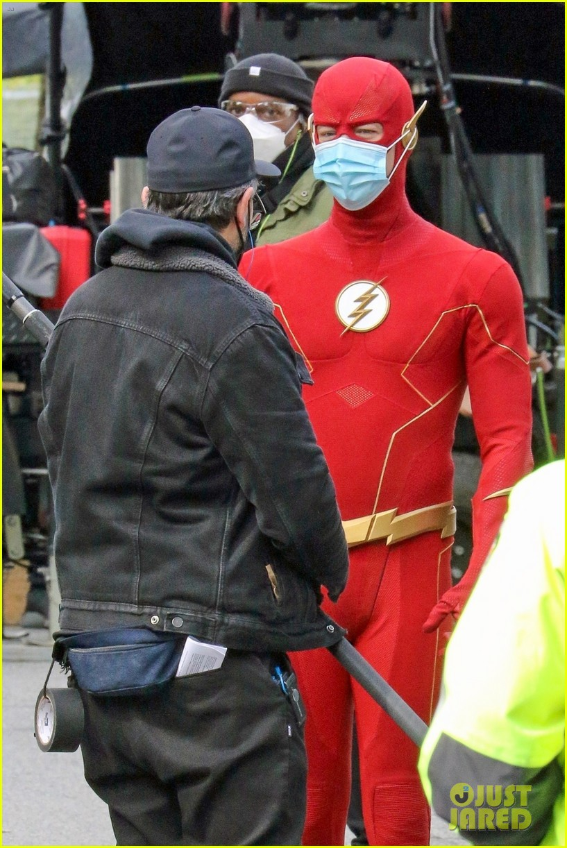 first look photos of jordan fisher as impulse on the flash 24