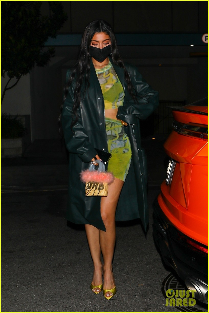 kylie jenner leaves party 14