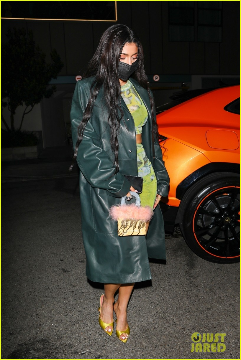 kylie jenner leaves party 17