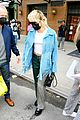 miley cyrus tops for fans snl rehearsals fringe jacket 07