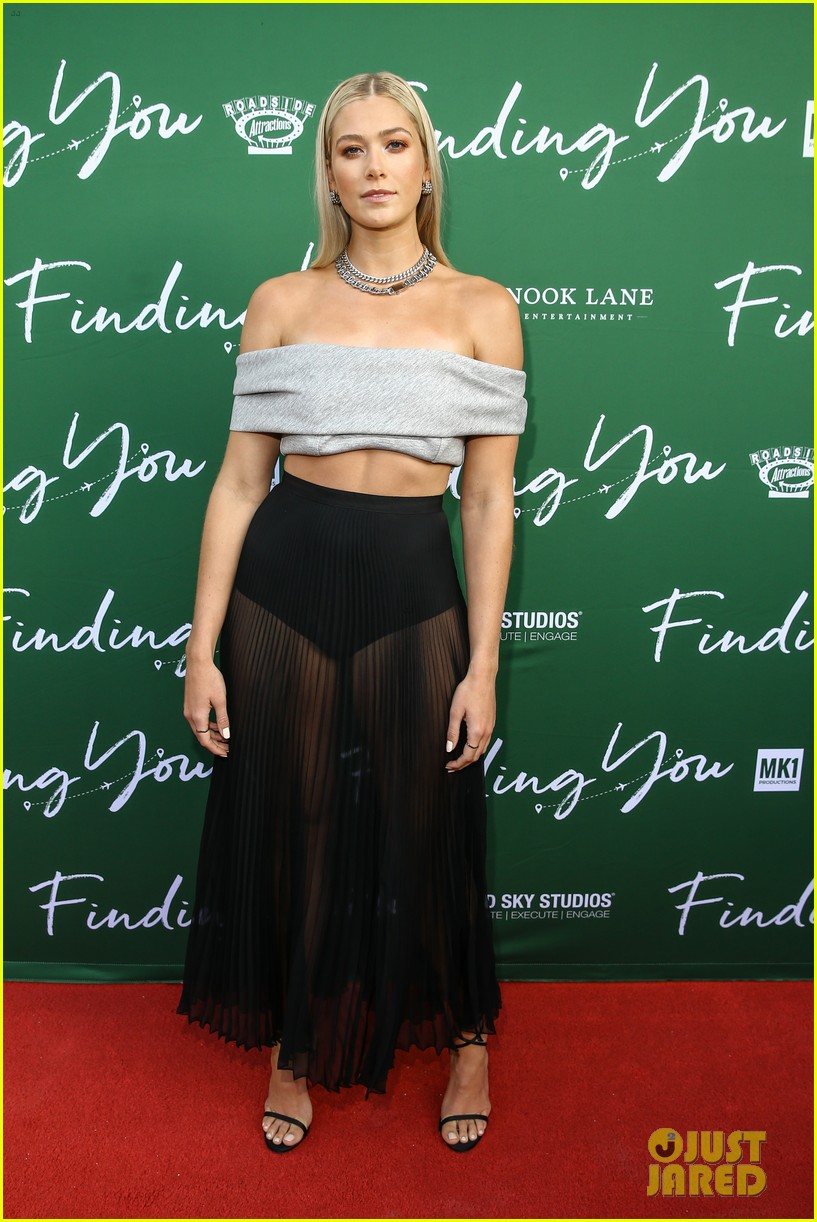 rose reid attends special screening of new movie finding you 09
