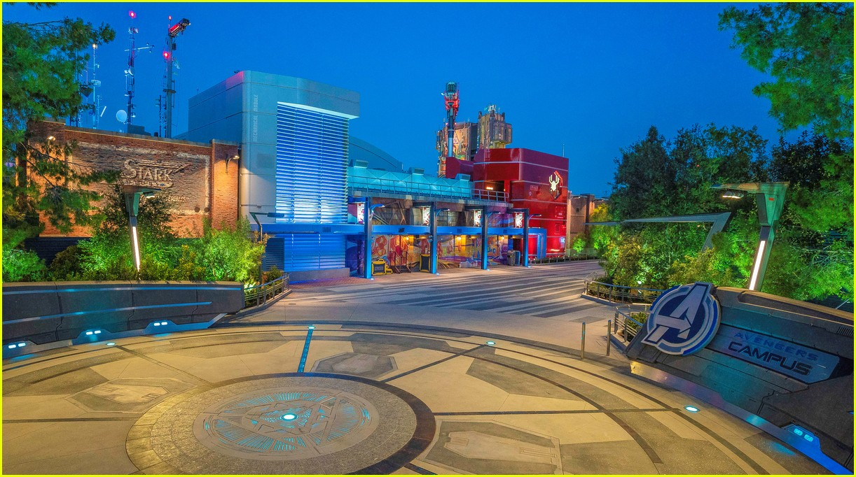 avengers campus officially opens at disney california adventure 23