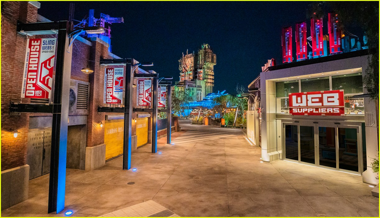avengers campus officially opens at disney california adventure 24