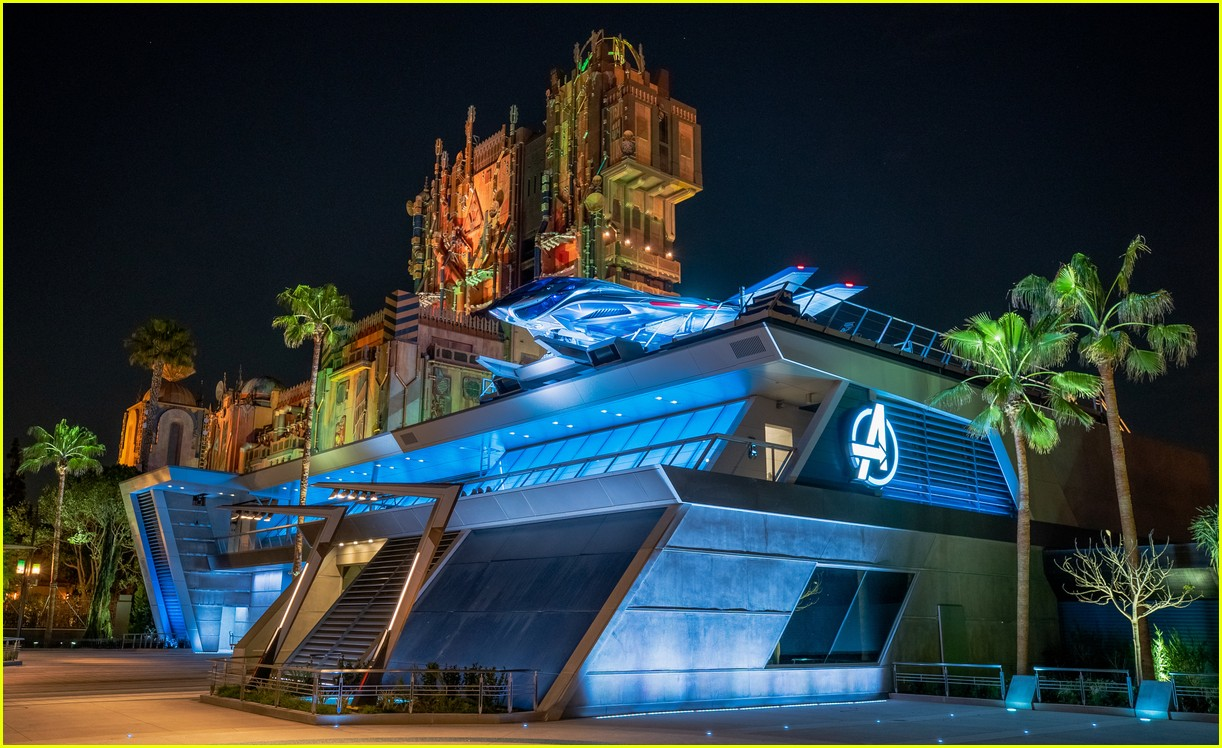 avengers campus officially opens at disney california adventure 25