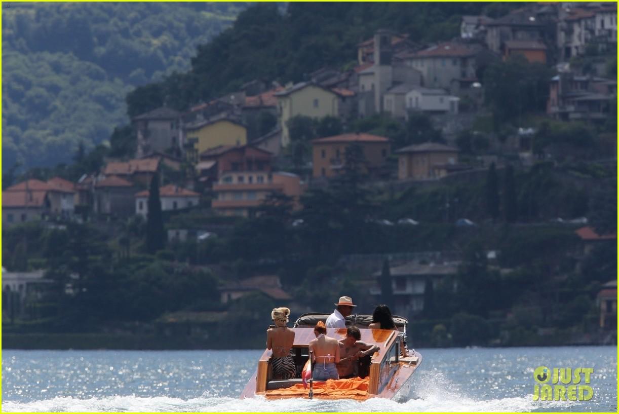bella thorne yellow bikini lake como with benjamin mascolo 50