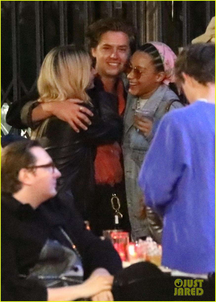 cole sprouse camila mendes stella maxwell hang out 01