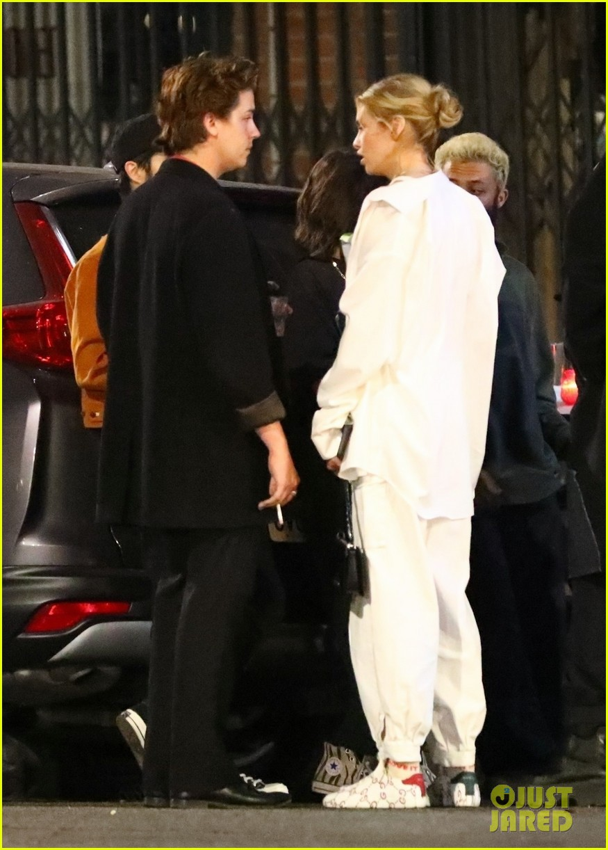 cole sprouse camila mendes stella maxwell hang out 05