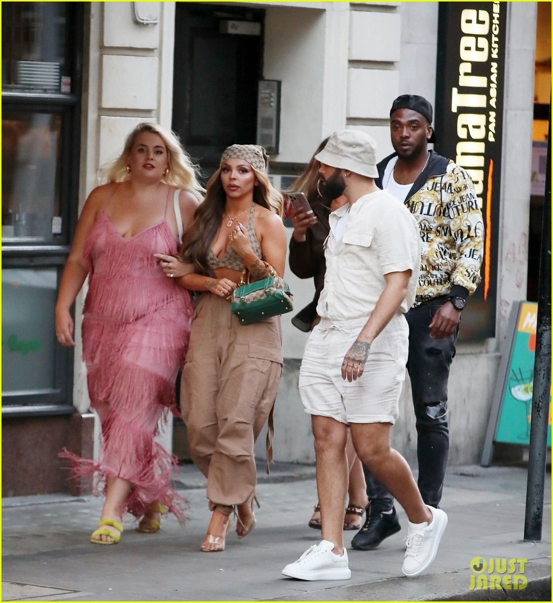 jesy nelson steps out with friends to celebrate her 30th birthday 01