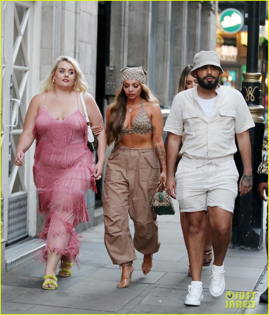 jesy nelson steps out with friends to celebrate her 30th birthday 03