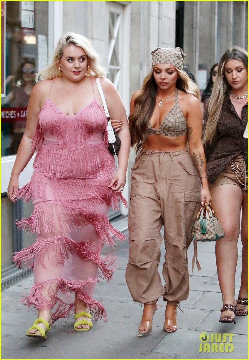 jesy nelson steps out with friends to celebrate her 30th birthday 05