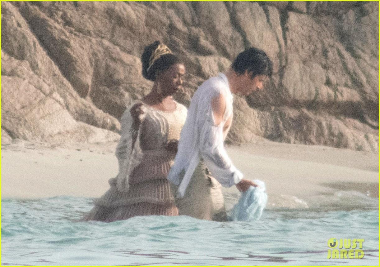 jonah hauer king noma dumezweni little mermaid set 02