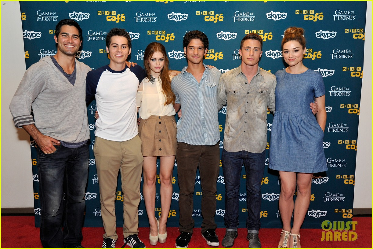 tyler posey dylan obrien more celebrate teen wolf 10 year anniversary 06