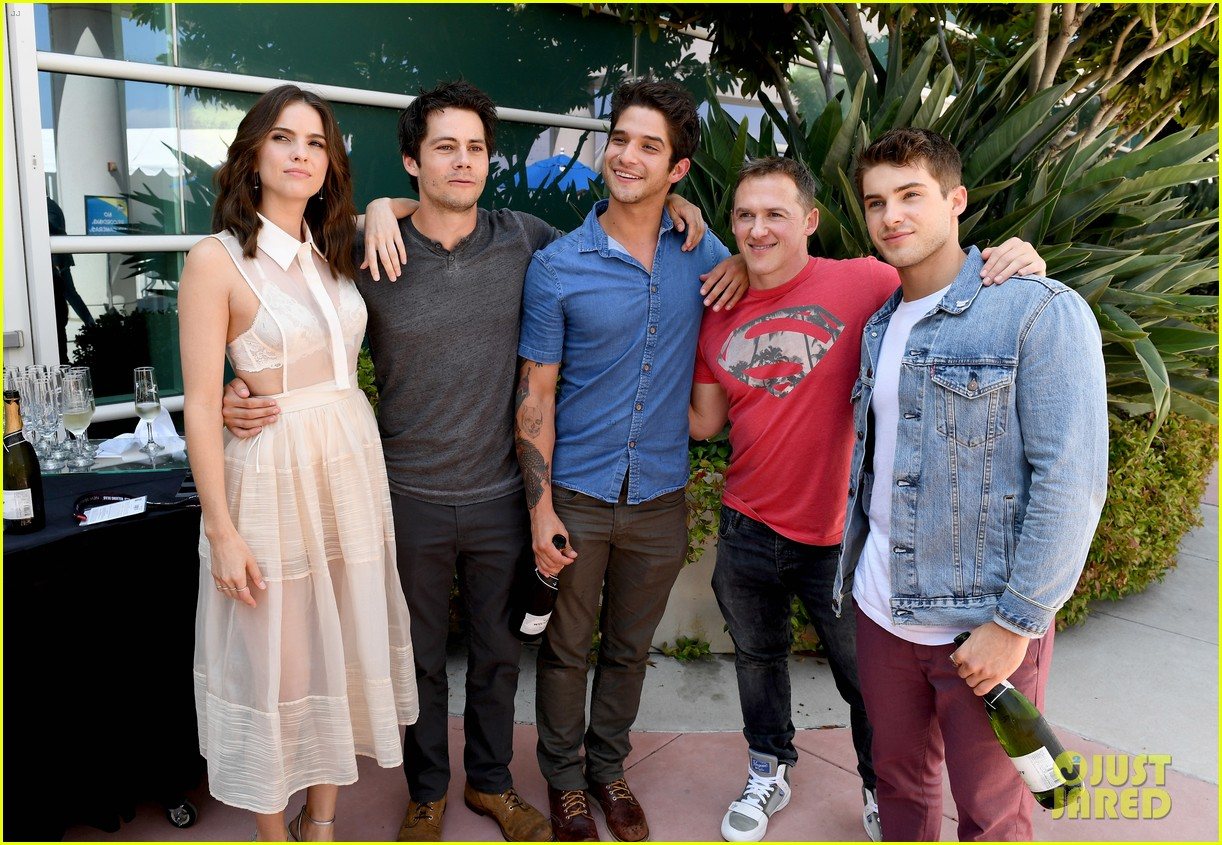 tyler posey dylan obrien more celebrate teen wolf 10 year anniversary 10