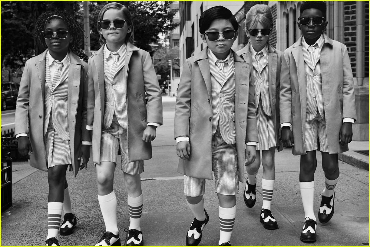 alan kim stars in new thom browne fashion campaign 04