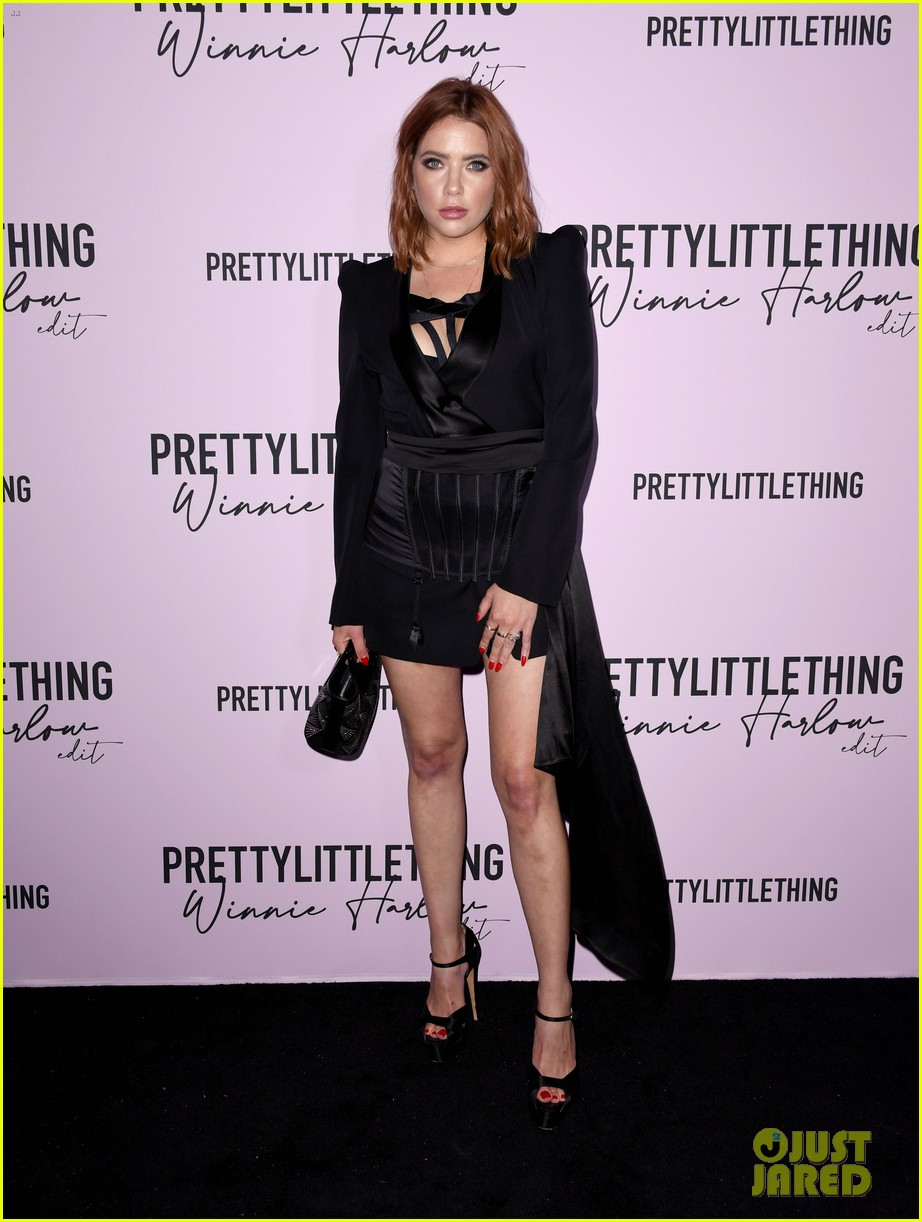 ashley benson celebrates winnie harlows new pretty little thing collection 01