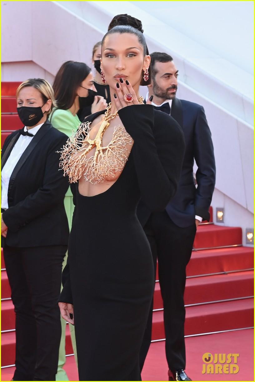 bella hadid wears revealing dress to cannes film festival premiere 03