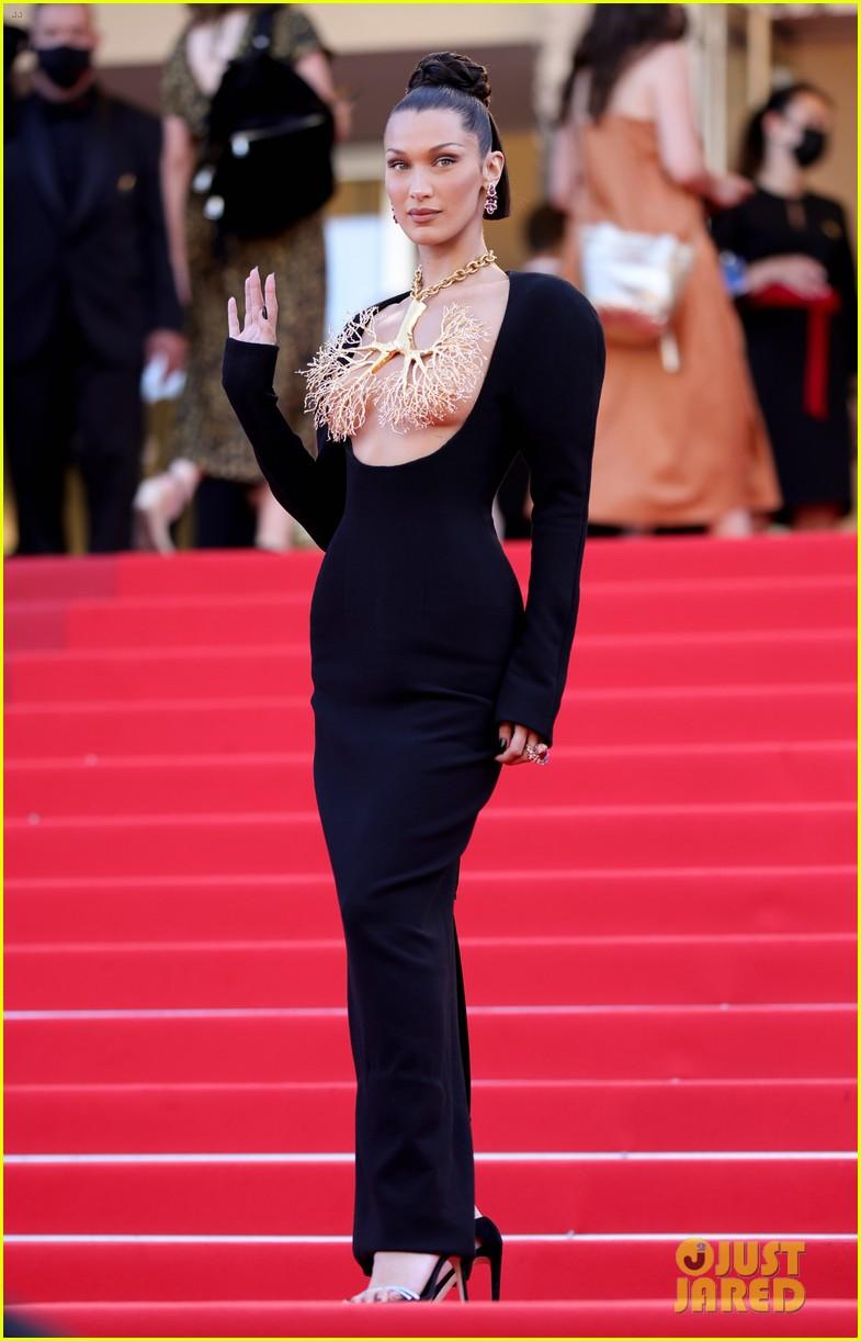 bella hadid wears revealing dress to cannes film festival premiere 04