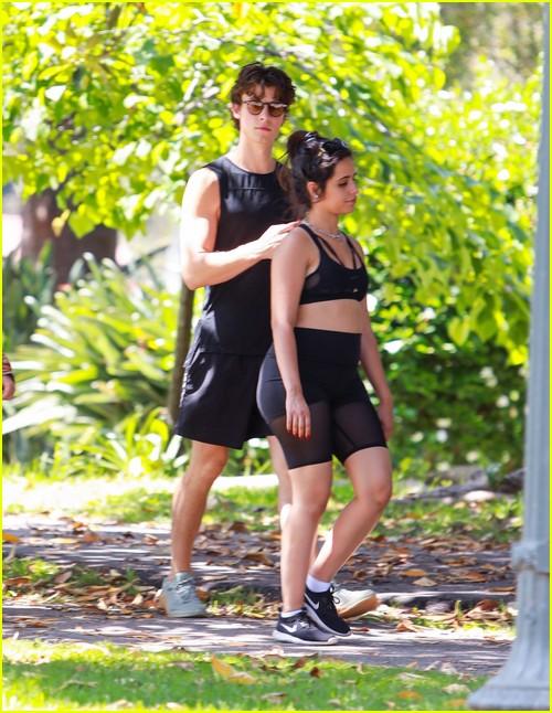 shawn mendes camila cabello look so in love on a stroll in la 03