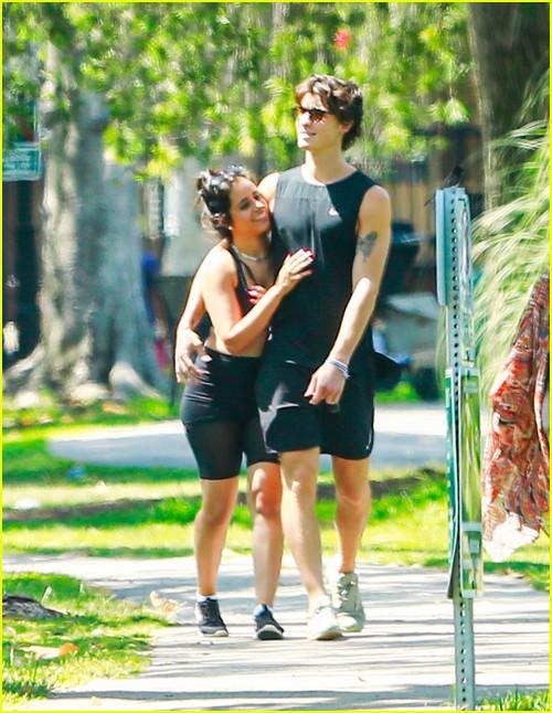 shawn mendes camila cabello look so in love on a stroll in la 10