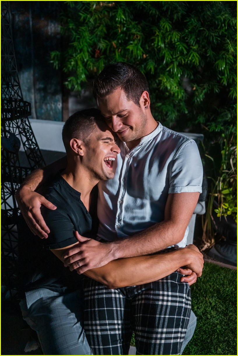 the fitness marshall caleb marshall pops the question to longtime boyfriend cameron moody 02