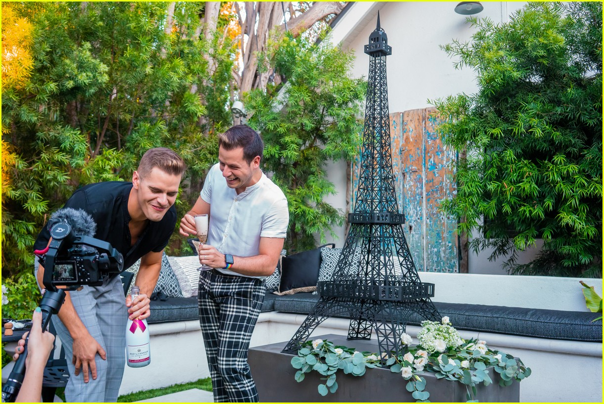 the fitness marshall caleb marshall pops the question to longtime boyfriend cameron moody 05