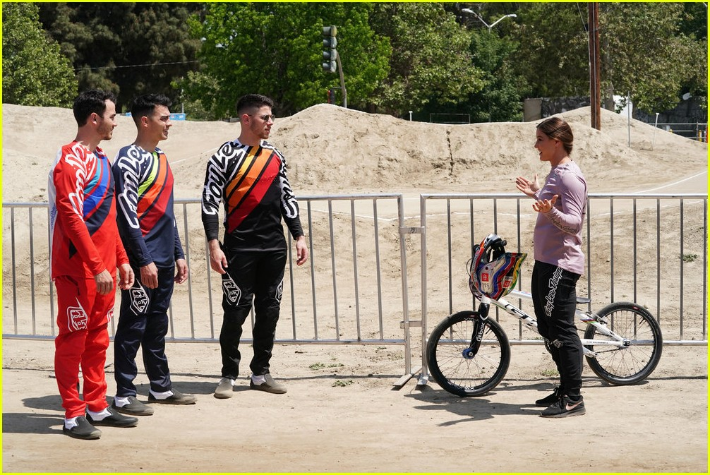 nick jonas bmx crash will be in the olympic dreams special 22