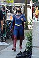 supergirl cast in full costume finale filming 07