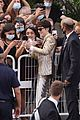 timothee chalamet cozies up to costar tilda swinton at the french dispatch cannes premiere 06