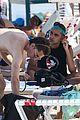 alisha boe maia reficco more hit the beach on day off 01