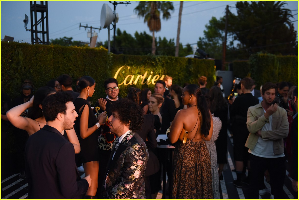 lily collins dove cameron cartier event 10