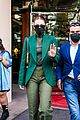 gigi hadid 50 shades of green day out in paris 09