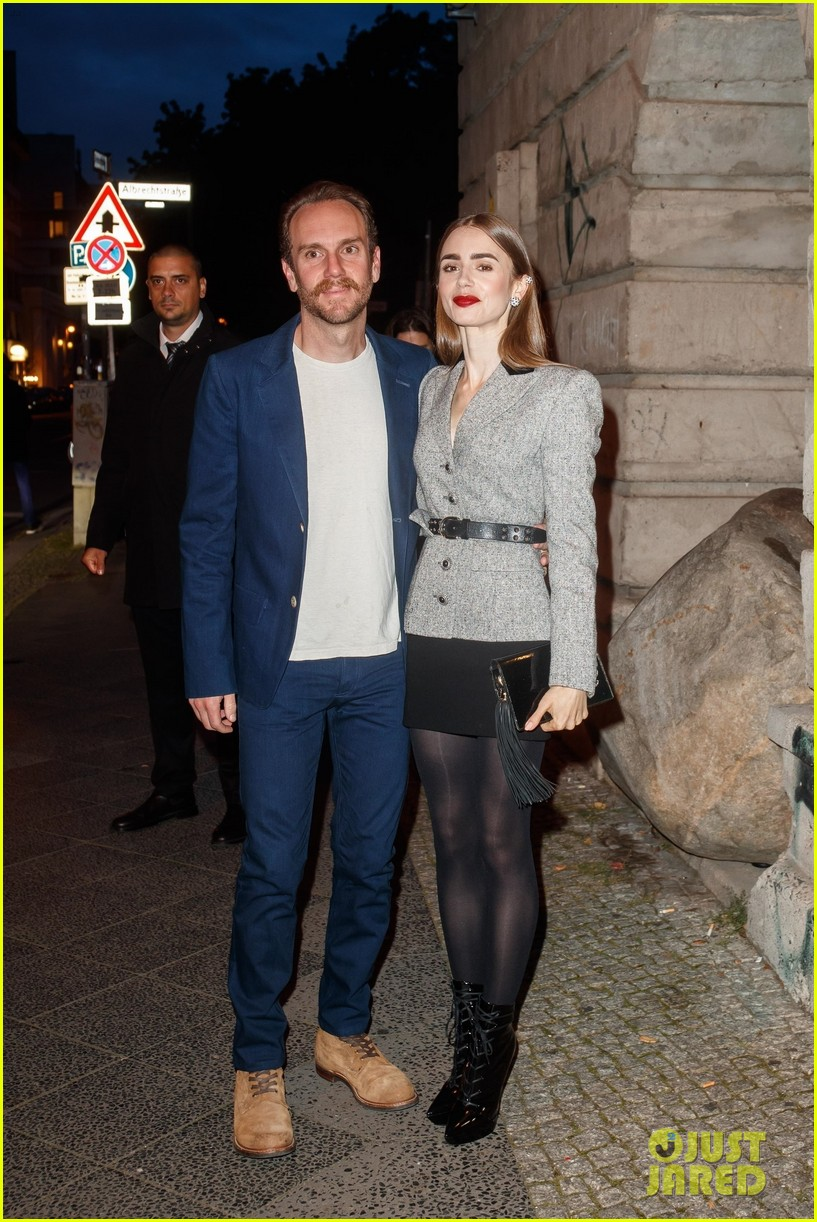 lily collins husband charlie mcdowell attend first event since getting married 01