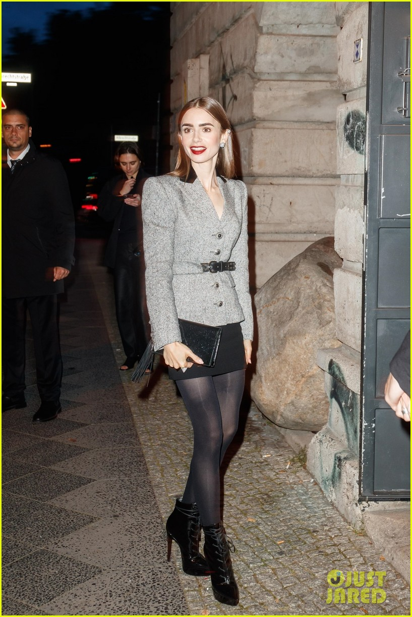 lily collins husband charlie mcdowell attend first event since getting married 03
