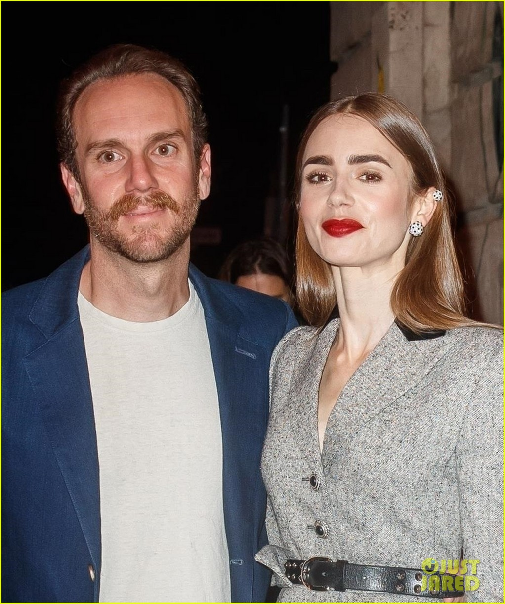 lily collins husband charlie mcdowell attend first event since getting married 04