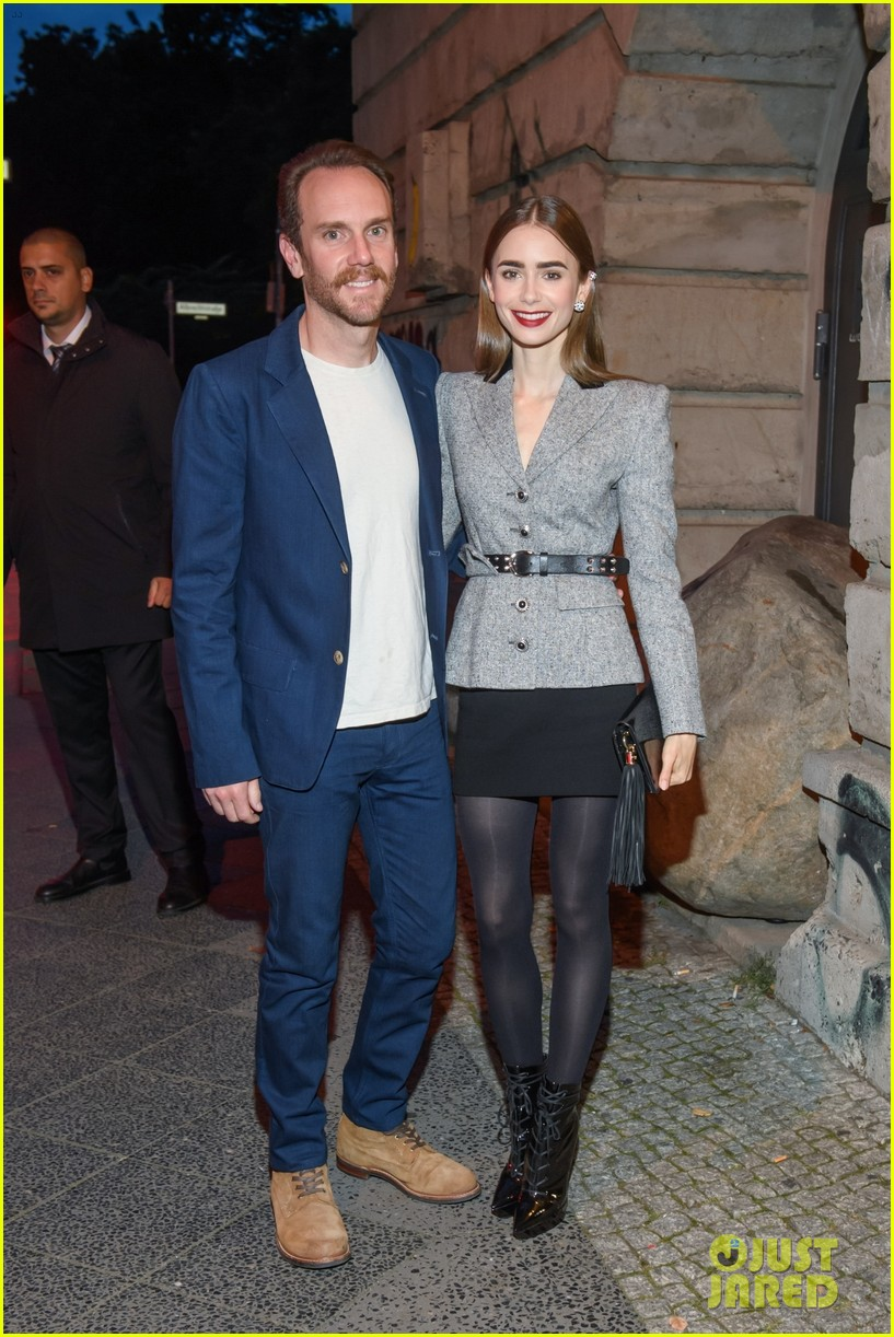 lily collins husband charlie mcdowell attend first event since getting married 05