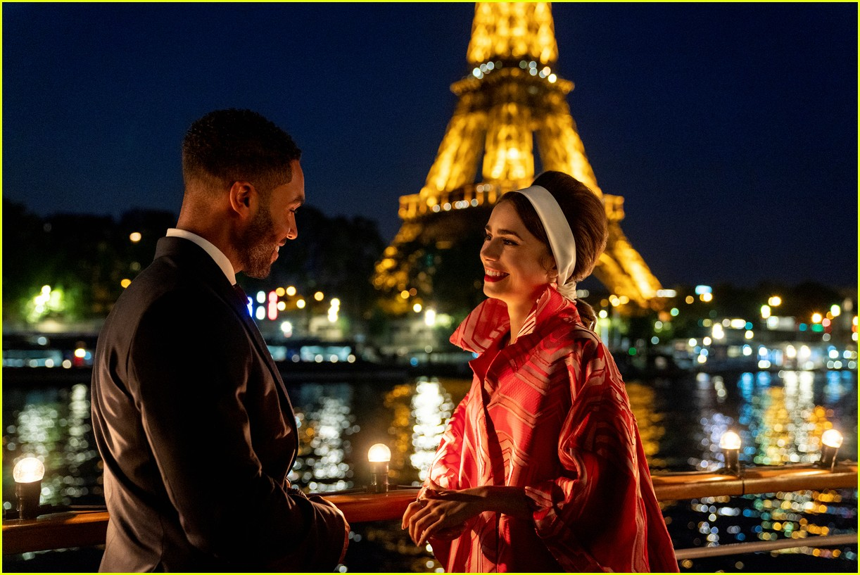 lucien laviscount joins emily in paris season two first look photos 02