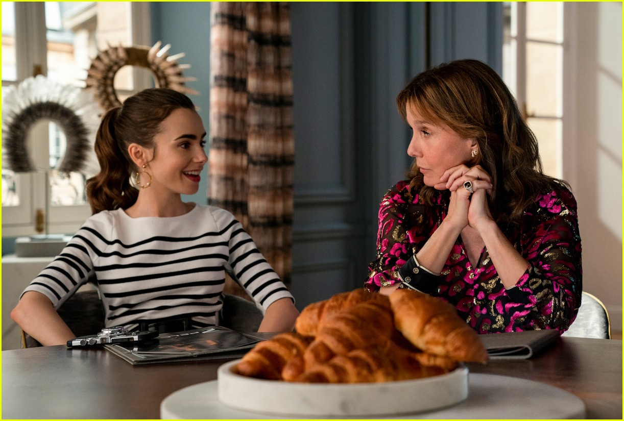 lucien laviscount joins emily in paris season two first look photos 09