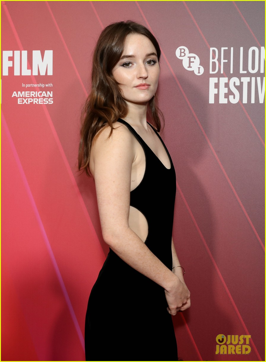kaitlyn dever will poulter premiere new show dopesick at london film festival 02
