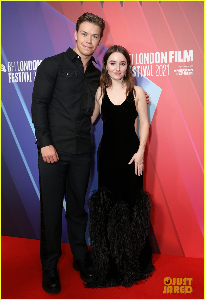 kaitlyn dever will poulter premiere new show dopesick at london film festival 05