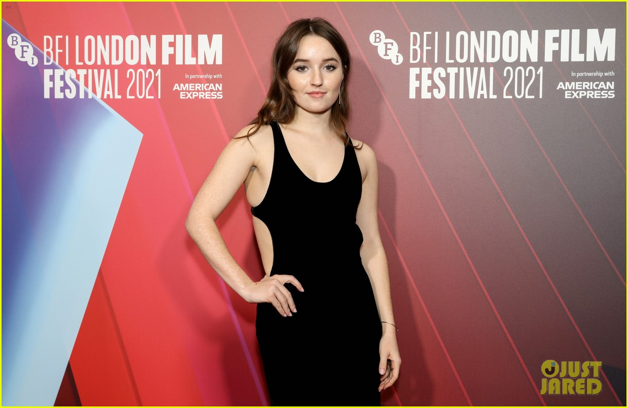 kaitlyn dever will poulter premiere new show dopesick at london film festival 08