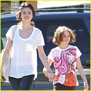 Selena Gomez & Joey King: Grand Slam Sweeties